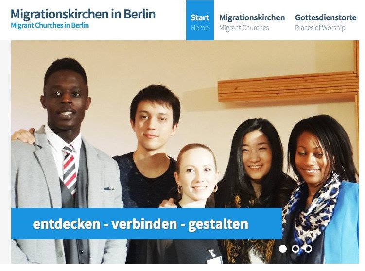 """Find a church, which speaks your language"" Neue Webseite ""Migrationskirchen in Berlin"""